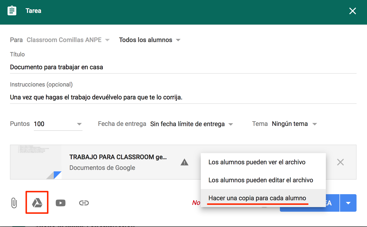 Convertir Word a Documentos de Google