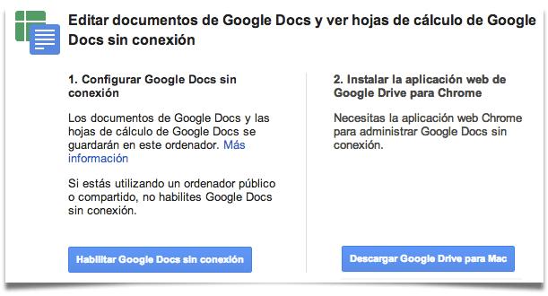 usa google docs sin conexión a internet ayuda g suite para educación
