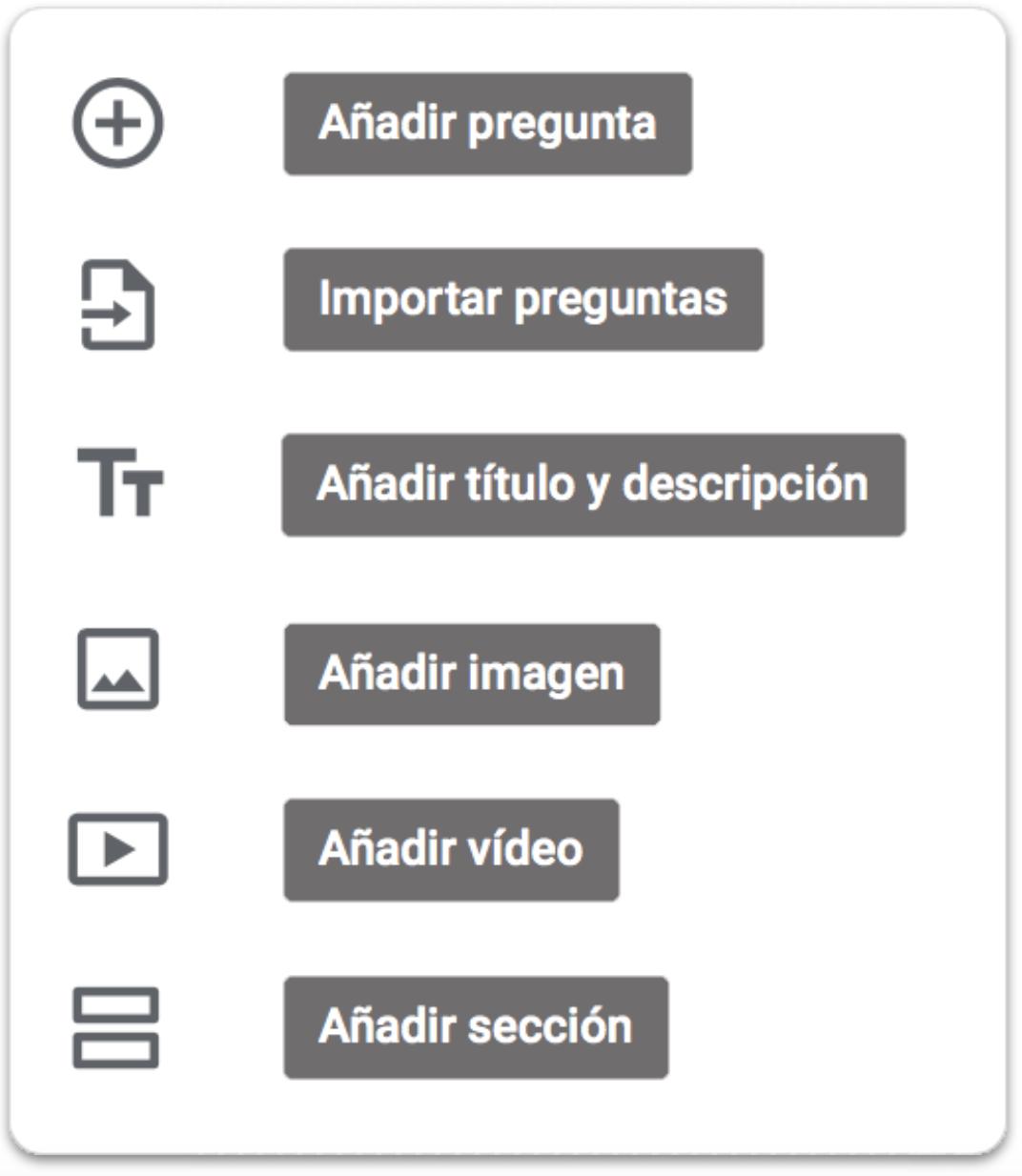 pantalla opciones